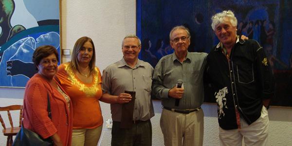María Luisa Cordone, Serrana Prunell, Didier Calvar, Juan Antonio Varese y  el profesor Paolo I Bergomi