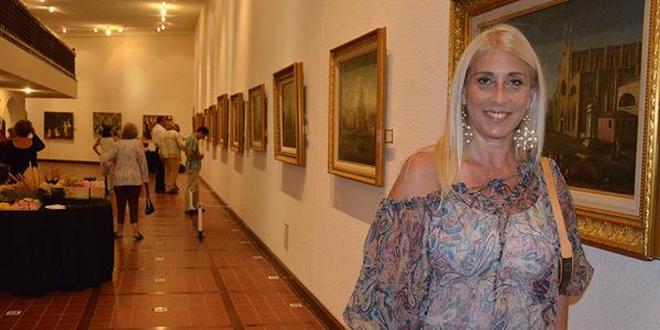 La chef Elena Tejeira estuvo presente en el festejo de los 25 años del Museo