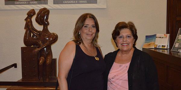 Serrana Prunell, Directora Museo Ralli y María Luisa Cordone, RRPP Museo Ralli, Directora y Conductora Radio Milenium