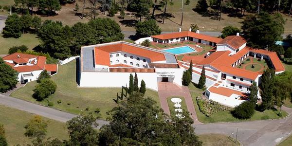 Vista aérea del Museo Ralli