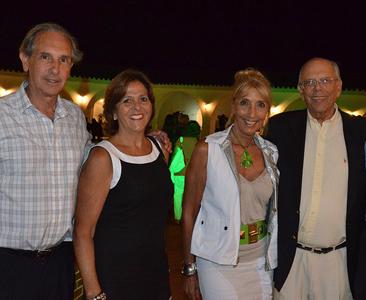 Jorge Batlle y se señora Mercedes Menafra y amigos