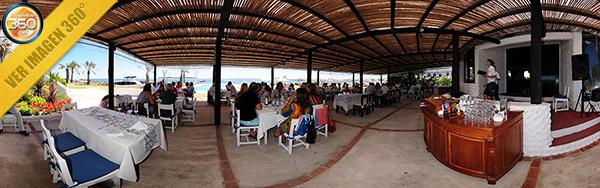 Imagen 360º del Restaurant en el club de los Balleneros