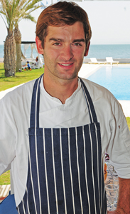 Diego Marfectán, chef director del restaurant del Club