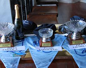 Algunos de los premios que se entregaron