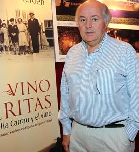 Javier Carrau, director de Vinos Finos Juan Carrau S.A.