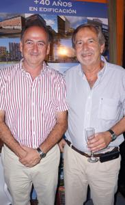 Eduardo Aymat y Guillermo Escardó