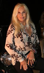 Susana Giménez presente en el evento de Mercedes Benz