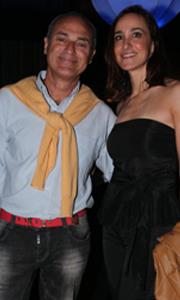 Alejandro Raineri y acompañante