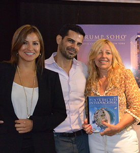 Equipo Trump Soho junto a Sandra Turnier, Presidenta de Polaris Real Estate Consulting