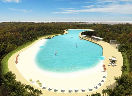 Grupo Solanas presentó la primera Laguna de Aguas Cristalinas