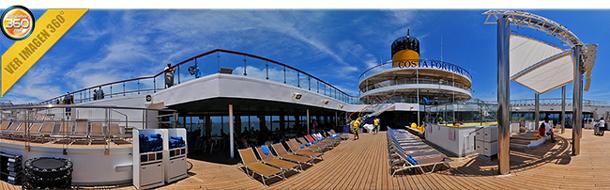 Conozca un crucero de Costa Cruceros desde su interior