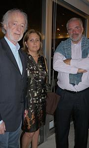 Carlos López Mena junto a Pablo Atchugaray