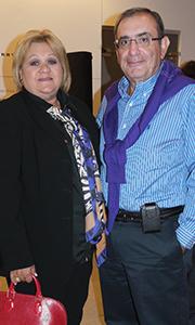 Jorge Serna y su señora Shirley