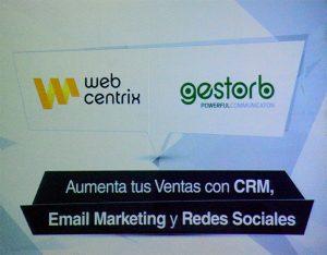 Placa de presentación Web Centrix y Gestor B