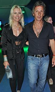 Valeria Mazza y su esposo, Alejandro Gravier