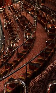 La sala de teatro del Crucero