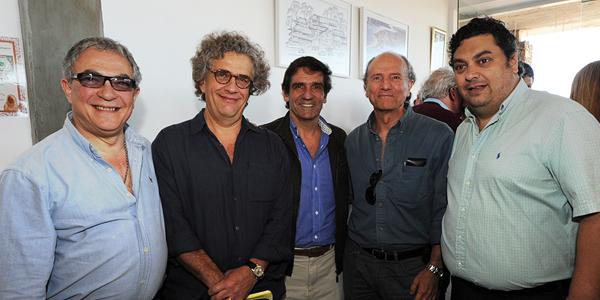 Luis Borsari, Fernando Luis Goldsman, Martin Laventure, Javier San Martín, Eduardo Lameson