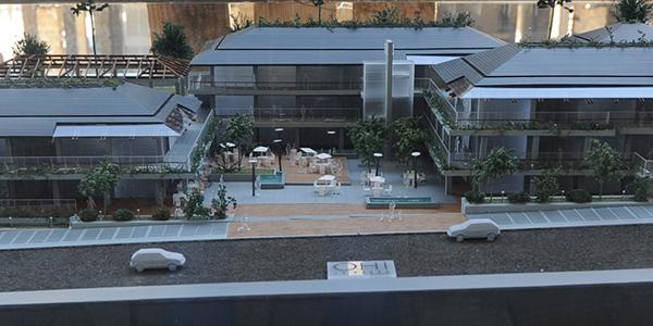 Maqueta de proyecto Shopping OH! La Barra