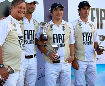 Equipo Fiat Polo Team: Cristiano Rattazzi, Alejandro Novillo Astrada, Juan de Dios Cincunegui y Jejo Taranco