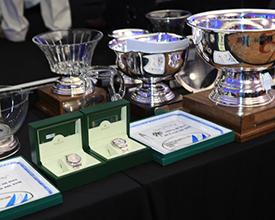 Algunos de los premios entregados en la Copa