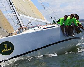 De las más increíbles y potentes embarcaciones participaron de la Copa Rolex
