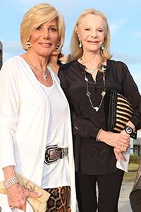 Ada de Mourier y Laetitia d'Aremberg