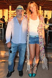 Féliz Abánades, CEO de Selenza, junto a Lara Bernasconi