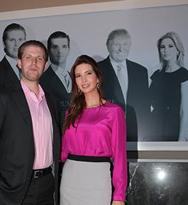 Ivanka y Erik Trump