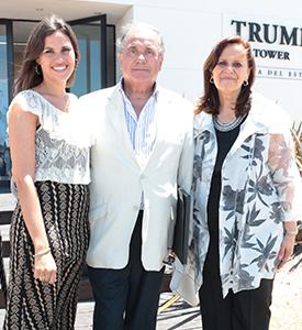Carlos Orlando, embajador de Uruguay en Estados Unidos, y acompañantes