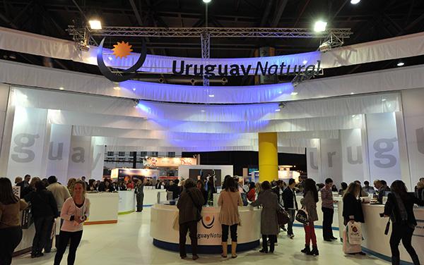 Gran representación de Uruguay en la FIT