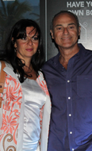 Alejandra Covello y Alejandro Raineri