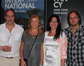 Washington Cervinho, Analía Suárez, Alejandra Covello y Hernán Sas
