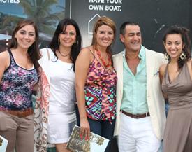 Maria Reyes, Alejandra Covello, Yésica Díaz, Luís González Arce y Marcia Bianchi