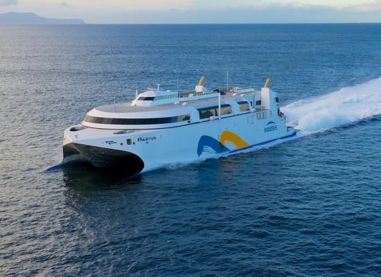Buquebus: Nuevo buque para unir las dos márgenes del Plata