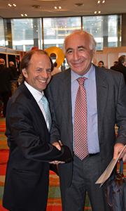 Damián Tabakman, director de En RealEstate y Andrés Kalwin, de Veramansa