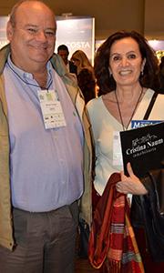 Marcelo Travella y Cristina Naum, directores de inmobiliaria Naum
