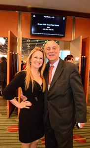 Pina Armentano junto a Doctor Roberto Ledo