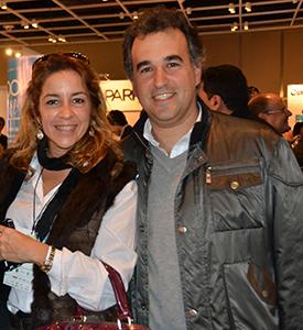 Sylvana Constanzo y Michel Tobal