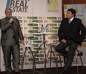 Marco Galbiati, de International Real Estate Advisor y Moses Bensusan, desarrolldor de Costa Hollywood