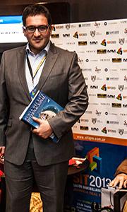 Lic Federico Weil, director de TGLT, quien disertó sobre proyectos inmobiliarios excepcionales