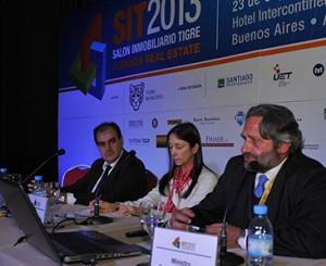 Representantes de Uruguay en su disertación en SIT