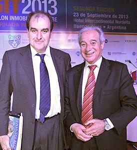 Oscar de los Santos, Intendente de Maldonado junto a Horacio Díaz, director de Turismo