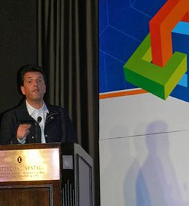 Sergio Massa, Intendente del Tirge en su disertación en SIT 2013
