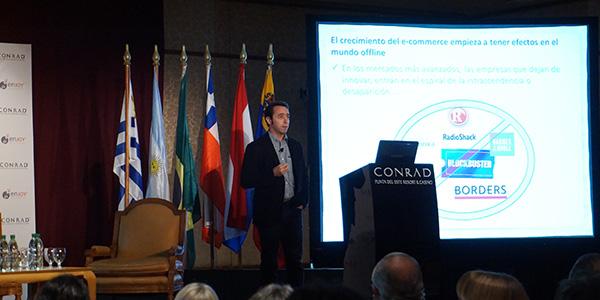 Marcos Galperil, en su disertación en Reporte Inmobiliario