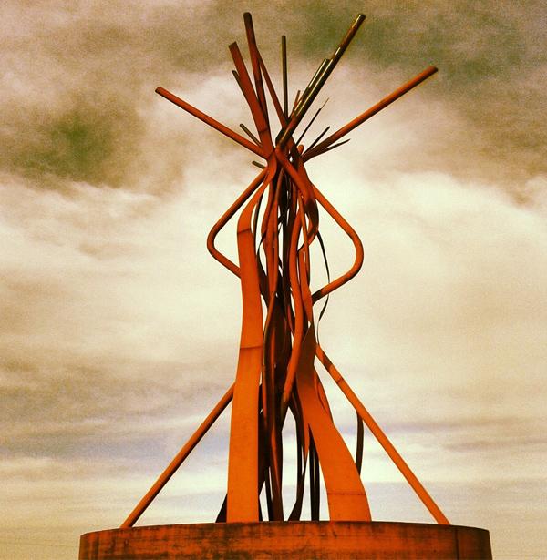 Obra de Pablo Atchugarry en Tierra Garzón