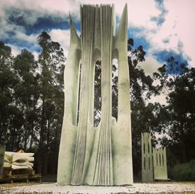 Esculturas diseñadas por Pablo Atchugarry