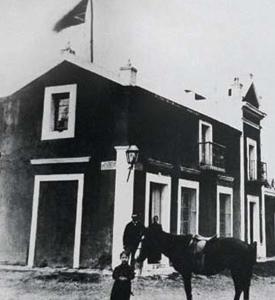 La casa de Henry Burnett. Desde allí dio su batalla contra las dunas
