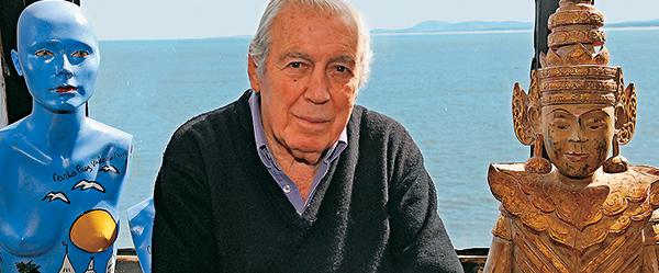Carlos Páez Vilaró cumple 50 años junto al arte, una pasión que lo reunió con importantes personalidades como Pablo Picasso