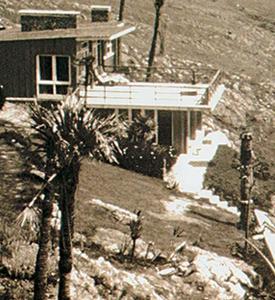 """La construcción tal como se ve hoy, fue edificada alrededor de """"La Pionera"""", una casilla de madera que, en los'60, era el único refugio del lugar"""