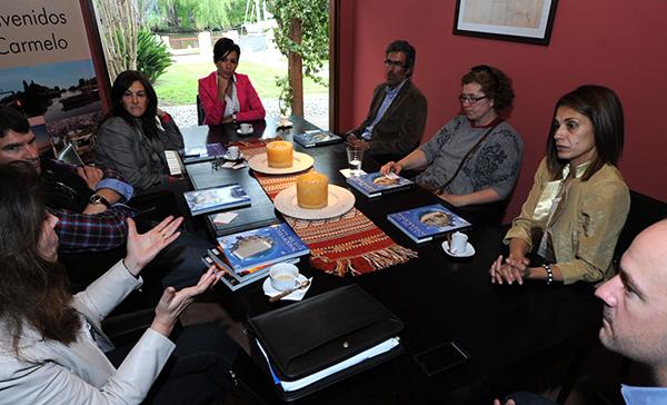 Reunión en las Oficinas de Covello International